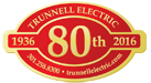 Trunnell Electric | 80th Anniversary 1936-2016